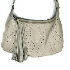 Sereta Handbag Tass Purse Silver Stud Accents